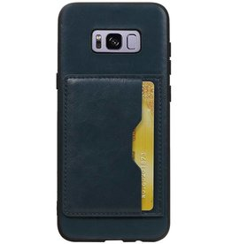 Standing Back Cover 1 Passes for Galaxy S8 Plus Navy