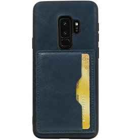 Standing Back Cover 1 Passes for Galaxy S9 Plus Navy
