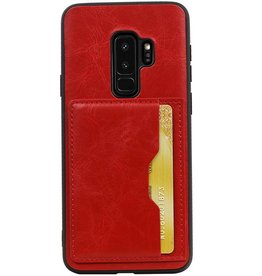 Standing Back Cover 1 Passes for Galaxy S9 Plus Red