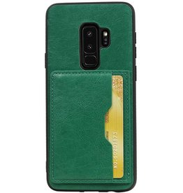 Portrait Back Cover 1 Cards for Galaxy S9 Plus Green