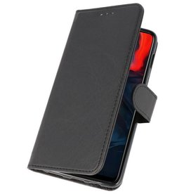 Bookstyle Wallet Cases Case for One Plus 6 Black