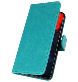 Bookstyle Wallet Cases Case for One Plus 6 Green