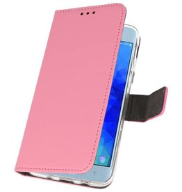 Wallet Cases Case for Galaxy J3 2018 Pink