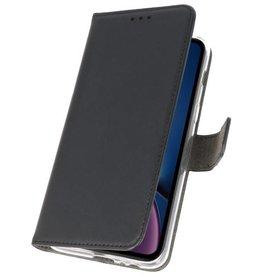 Wallet Cases Hoesje voor iPhone XR Zwart