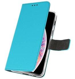 Wallet Cases Tasche für iPhone XS Max Blau