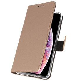 Wallet Cases Tasche für iPhone XS Max Gold