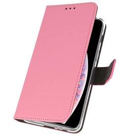 Wallet Cases Tasche für iPhone XS Max Pink