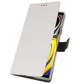 Wallet Cases Case for Galaxy Note 9 White