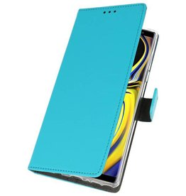 Wallet Cases Case for Galaxy Note 9 Blue