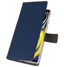Wallet Cases Case for Galaxy Note 9 Navy