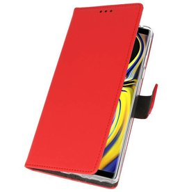 Wallet Cases Case for Galaxy Note 9 Red