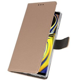 Wallet Cases Case for Galaxy Note 9 Gold