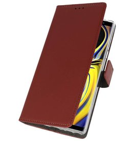 Wallet Cases Case for Galaxy Note 9 Brown