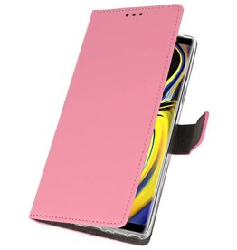 Wallet Cases Case for Galaxy Note 9 Pink
