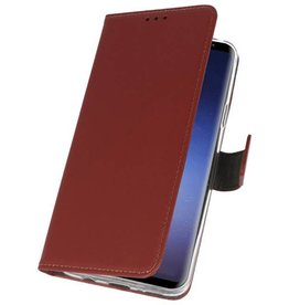 Wallet Cases Case for Galaxy S9 Plus Brown