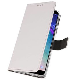 Wallet Cases Case for Galaxy A6 Plus (2018) White