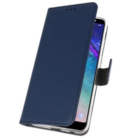 Wallet Cases Case for Galaxy A6 Plus (2018) Navy