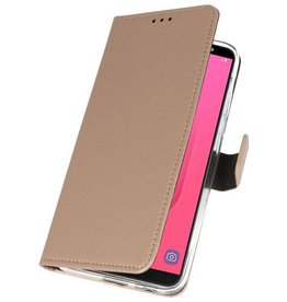 Wallet Cases Case for Galaxy J8 Gold
