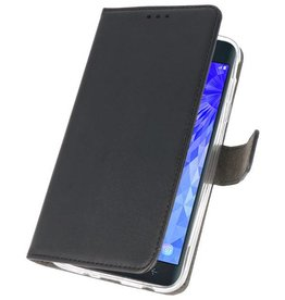 Wallet Cases Case for Galaxy J7 2018 Black