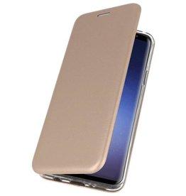 Schlanke Folio Case für Samsung Galaxy Note 9 Gold