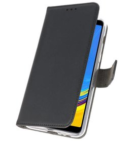 Wallet Cases Case für Galaxy A7 (2018) Schwarz