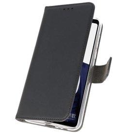 Wallet Cases Hoesje voor Huawei Note 10 Zwart
