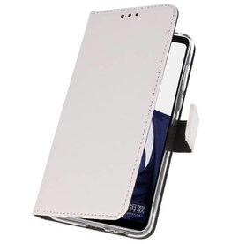 Wallet Cases Hülle für Huawei Note 10 Weiß