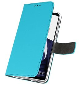 Wallet Cases Case for Huawei Note 10 Blue