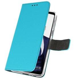 Wallet Cases Case für Huawei Note 10 Blau