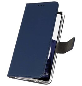Wallet Cases Case for Huawei Note 10 Navy