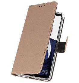 Wallet Cases Tasche für Huawei Note 10 Gold