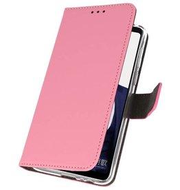 Wallet Cases Hülle für Huawei Note 10 Pink