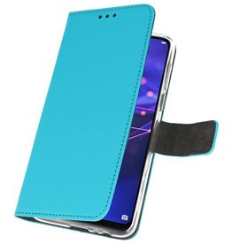 Wallet Cases Case for Huawei Mate 20 Lite Blue