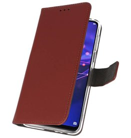 Wallet Cases Case for Huawei Mate 20 Lite Brown