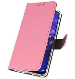 Etui Hülle für Huawei Mate 20 Lite Pink
