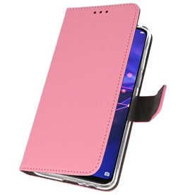 Wallet Cases Case for Huawei Mate 20 Lite Pink