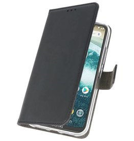 Wallet Cases Case for Moto One Power Black