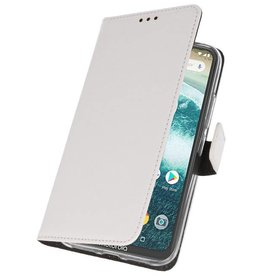 Wallet Cases Case for Moto One Power White