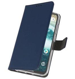 Etui für Motorola One Power Navy