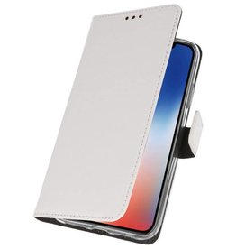Wallet Cases Case for iPhone XS - X White