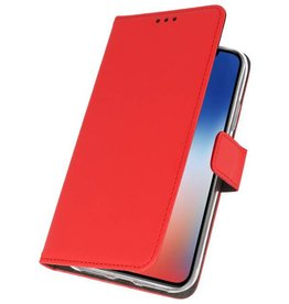 Wallet Cases Case for iPhone XS - X Red