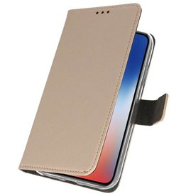 Wallet Cases Case for iPhone XS - X Gold