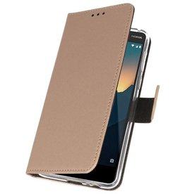 Wallet Cases für Nokia 2.1 Gold