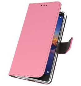 Wallet Cases Case for Nokia 3.1 Pink
