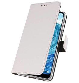 Wallet Cases für Nokia X5 5.1 Plus Weiß