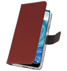 Wallet Cases für Nokia X5 5.1 Plus Braun