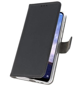 Wallet Cases for Nokia X6 6.1 Plus Black