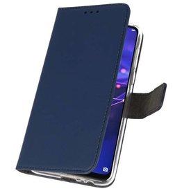Wallet Cases Hoesje voor Huawei Mate 20 Navy
