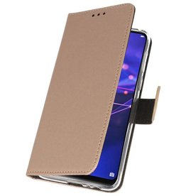 Wallet Cases Case for Huawei Mate 20 Gold