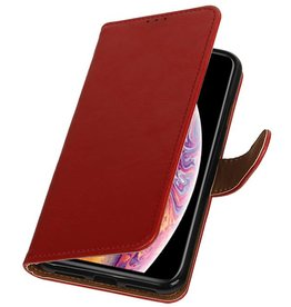 Pull Up Bookstyle for iPhone XS Max Red